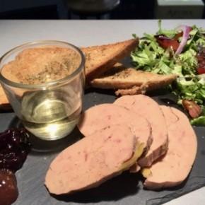 Planche de foie gras