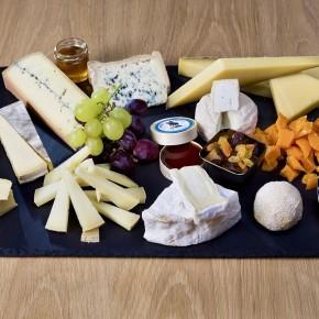 L'assiette de fromage...