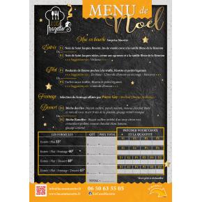 Les menus spécial fêtes